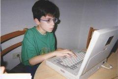 Maxime à 9 ans