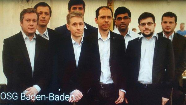 L'impressionnante armada de Baden-Baden… même pas au complet!