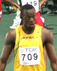 Usain Bolt | Photo CC BY-SA Arcimboldo