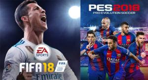 Fifa - Pro Evolution Soccer
