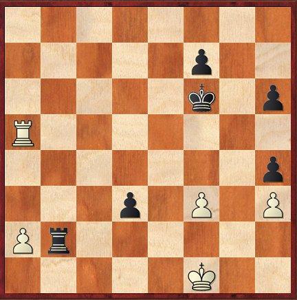 5e partie: Maxime rate 41…Tb1+