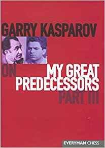 La série « My great predecessors » de Garry Kasparov