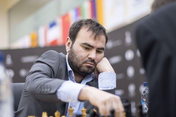 Shakhriyar Mamedyarov; le n°2 mondial est un adversaire difficile pour Maxime (photo chess.com)