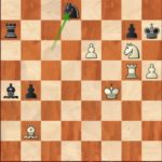 Caruana-Ding Liren, R9; white misses 66.Nf8+! Kg8 67.h6 which won by force.