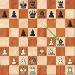 Karjakin-Caruana, R12; the exchange sacrifice 17.Bxd5! is very unpleasant for black.