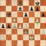 Mamedyarov-Ding Liren, R12; 33.g5?, the beginning of a desperate counter-attack on the Kingside which will lead to nowhere.