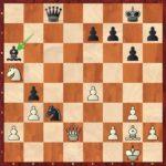 Après 32…Fa6! au lieu de 32…Fxe4, Hou ne comprendra pas que 33.Ff3 est absolument forcé.