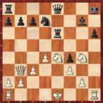 22…Txe4+! obligatoire en fin de variante, sinon c'est un pion de moins net.