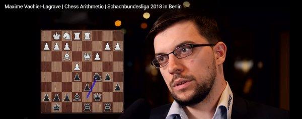 Maxime discusses his win against Horvath (Photo: Georgios Souleidis).