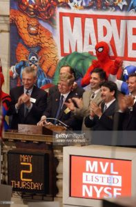 Marvel Entertainment (MVL au NYSE)
