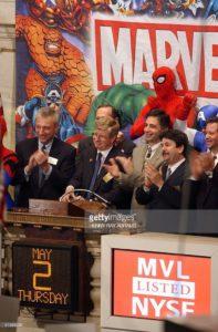 Marvel Entertainment (MVL au NYSE)