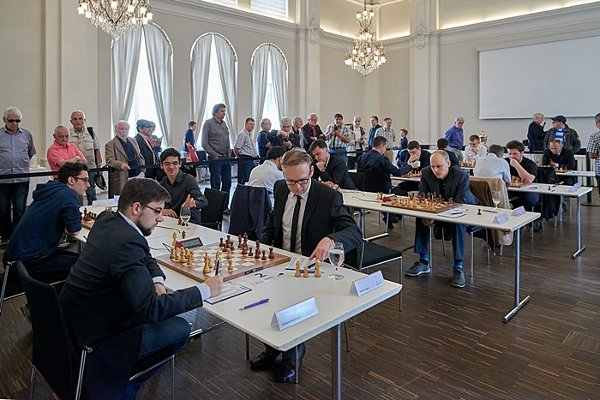 On my way to a Berlin against the Austrian Markus Ragger (photo: schachbundesliga.de).