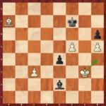 A crucialmoment: 49.Kh4! wins, but not 49.Kf4?.