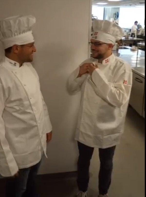Binôme Aronian-Mvl en cuisine