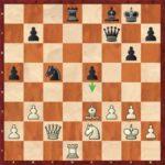 Ding-Liren-Mvl, ronde 2; 30…e4! force la nulle.