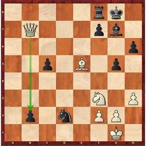 33.Fxb2 gagne, pas 33.Dxb2?.