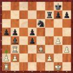 Mvl-Anand, ronde 7; Maxime rate 29.a3! et lâche le fatal 29.Txb4?.