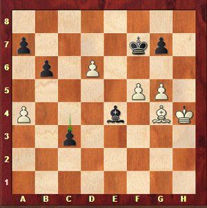 Mvl-Karjakin, round 25; black has just played the terrible 50…c3??.