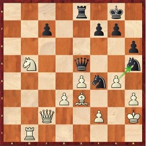Mvl-Kramnik, round 18; white has many ways to win.