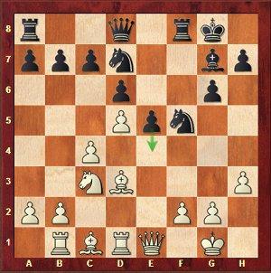 Mvl-Nakamura, ronde 12 ; en mode all in, Naka lâche l'improbable 17…e4.