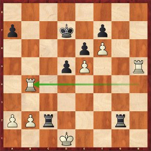 Mvl-Carlsen: a 4-Rooks endgame insanely complicated.