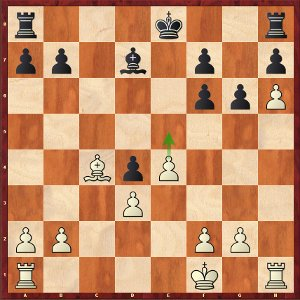 Svidler-Mvl, round 6; 20.e5?! is a bit too ambitious.