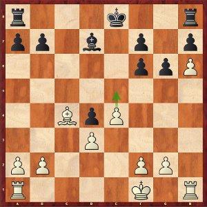 Svidler-Mvl, ronde 6 ; 20.e5?! est un peu trop ambitieux.