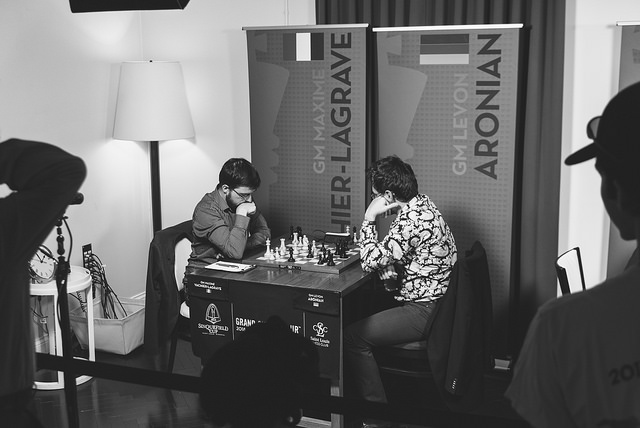 These two will meet again in the London Grand Chess Tour semi-finals! (Photo: GCT).