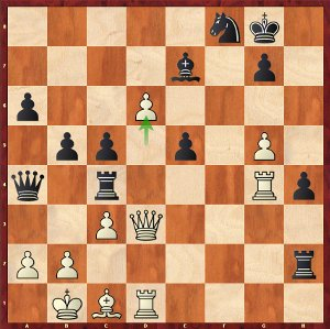 Aronian-Mvl, Round 8; a dramatic game!