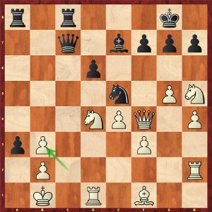Aronian-Mvl, Round 22; the only lost blitz game!