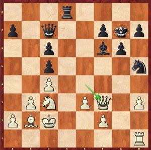 Dominguez-Mvl, Ronde 1 ; j'avais déjà eu cette position dans une partie contre Grischuk !