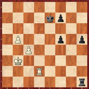 Dominguez-Mvl, Game 6; Rook endings are always drawn!