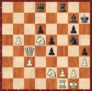 Dominguez-Mvl, Partie 18 ; 29…Tf3!?, une défense ingénieuse, mais insuffisante.