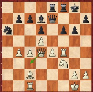 Dominguez-Mvl, Game 24; once again a Rook is trapped!