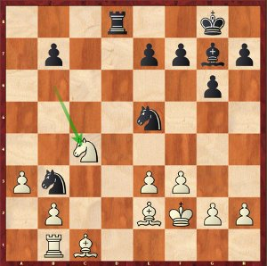 Dominguez-Mvl, Game 30; Maxime now traps a Bishop!