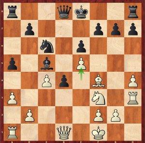 Dominguez-Mvl, Round 12; castling into it!