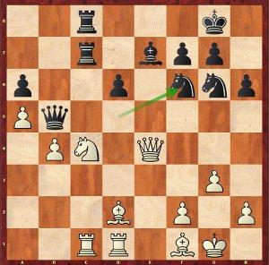 Grischuk-Mvl, Ronde 20 ; un rare cas de double cécité.
