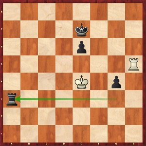 Black's defense remains very tricky, but thanks to his flawless endgame technique, Sergeï salvaged the half-point…