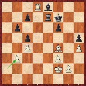 Mvl-Anand, Ronde 2 ; les noirs sont en souffrance.