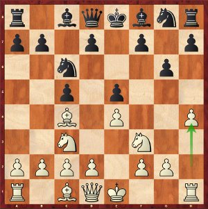 Mvl-Carlsen, Ronde 1; a baroque opening.