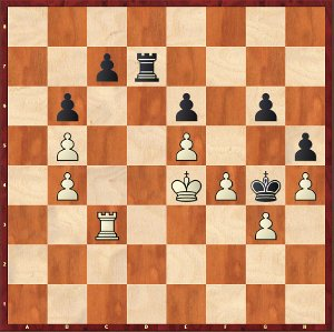 Mvl-Dominguez, Game 13; once again a drawn Rook endgame?