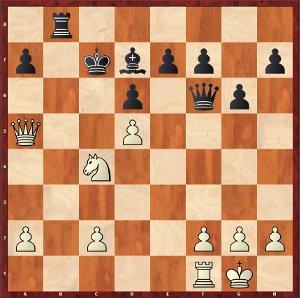 Mvl-Dominguez, Partie 17 ; où va le Roi noir ?