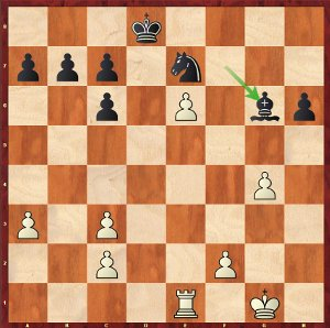 Mvl-Karjakin, Round 9; white is better.