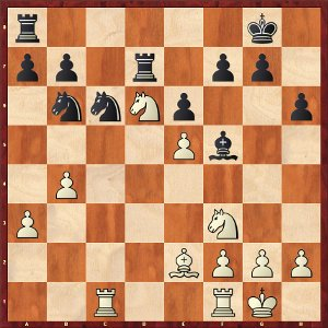 Mvl-Mamedyarov, Round 23; Mamedyarov takes too much risks.
