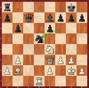 So-Mvl, Ronde 3 ; 20…Cd5 tend un piège !