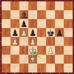 Mvl-Komodo, Partie 6 ; Maxime n'était pas certain de pouvoir sauver cette position, mais la machine a perdu au temps !