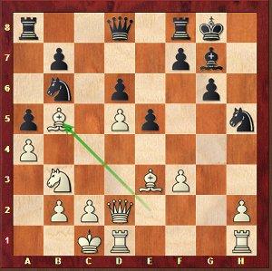 Leko-Mvl, Ronde 7; une ouverture délicate pour les noirs.