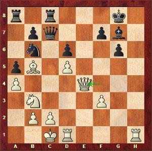 Leko-Mvl, 23…Cxa4 ou pas 23…Cxa4??