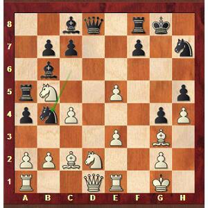 Mvl-Ding après 20…Cb4.