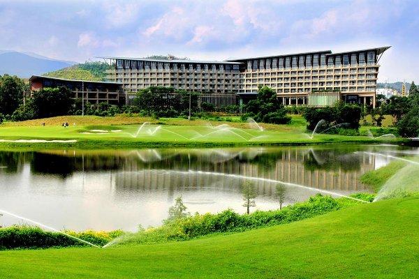 Le Castle Hotel de Shenzhen où se déroulait le tournoi.
